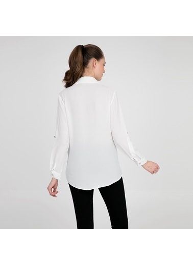 Fashion Friends Gömlek Ekru